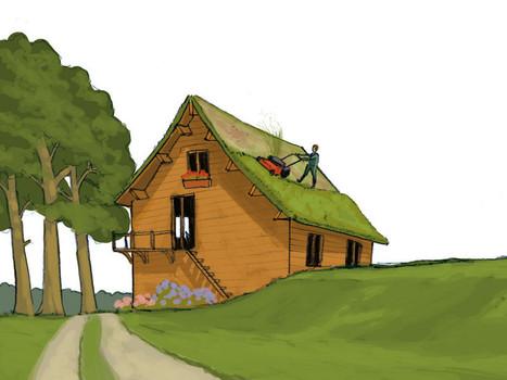 Les toitures végétalisées réduisent les consommations d'énergie de climatisation et de chauffage | Construire pour Demain | Toit végétalisés et agriculture | Scoop.it