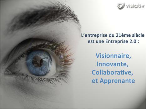 En route vers l'entreprise 2.0 visionnaire, innovante, collaborative et apprenante ! | zebrain | Scoop.it