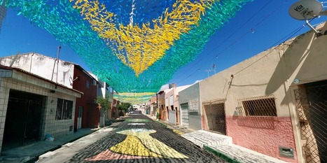 Tour Brazil Iconic Painted Streets - Business Insider | fifa | Scoop.it