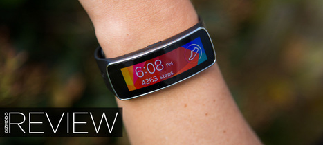 Samsung Gear Fit Review: A Beautiful Wristable Gone to Waste | The e-health Network | Scoop.it
