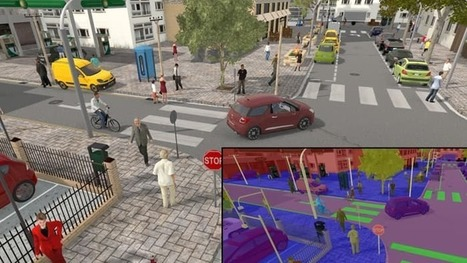 Meet Synthia, the virtual driving school for autonomous cars | Location Is Everywhere | Scoop.it