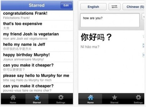 Google Translate ya funciona en iPad | #REDXXI | Scoop.it