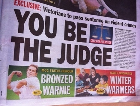 Tabloid-driven sentencing policies waste public money and lives | Library@CSNSW | Scoop.it