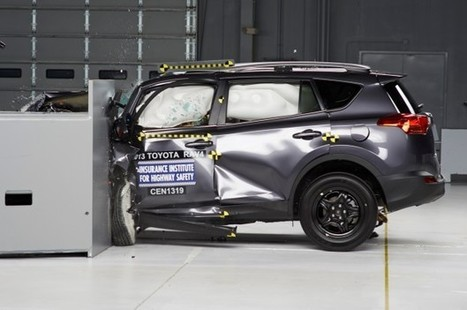 """2013 Toyota RAV4 Gets """"Poor"""" Rating In Small Overlap Crash Test - Automobile Magazine 