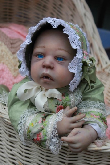 You Thought Reborn Babies Were Creepy? How About Vampire Reborn Babies? | Strange days indeed... | Scoop.it