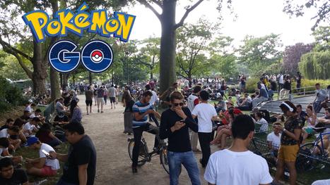 Sortie en France de Pokémon Go : journal de bord d'une intense journée collaborative au Champ de Mars (24/07/2016, Paris) | Sociologie du numérique et Humanité technologique | Scoop.it
