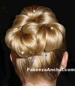 Stylish hairstyle for Girls, Bun Hairstyle Styles for Weddings | Indian Fashion Updates | Scoop.it