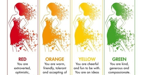 Your favorite color says something about your personality according to this infographic | Les infographies ! | Scoop.it
