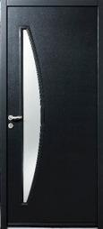 Porte d'entrée acier | Conseil construction de maison | Scoop.it