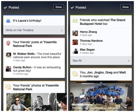 Facebook Testing Context Cards In IOS App | MarketingHits | Scoop.it