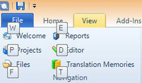 SDL Trados Studio 2014: shortcuts and the ribbon (by Emma Goldsmith) | Translator Tools | Scoop.it