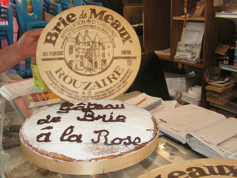 Une spécialité briarde est née : un gâteau dans une boite de brie ! | thevoiceofcheese | Scoop.it