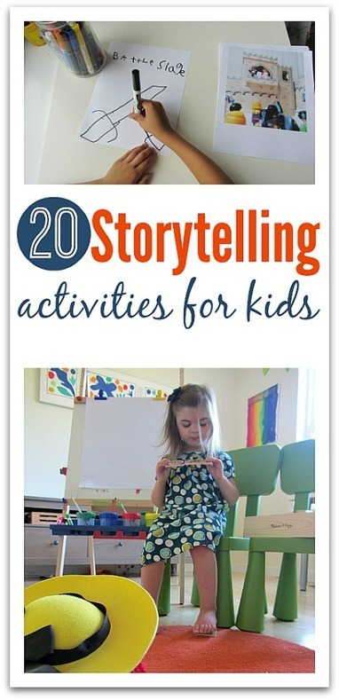Storytelling Activities For Kids - No Time For Flash Cards | Μέσα και έξω από την τάξη! | Scoop.it