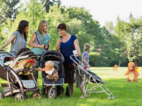 Meet the Pokémoms: Obsession with playing Pokémon Go has brought families closer together | Residential Child Care News | Scoop.it