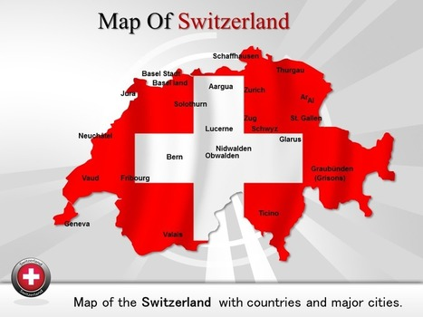 PowerPoint Template Gives a View of Beautiful city Map of Switzerland | PowerPoint Maps | Scoop.it