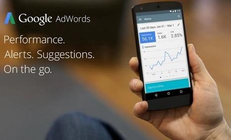 L'application Adwords pour Android supporte maintenant les campagnes vidéo - Arobasenet.com | Référencement internet | Scoop.it