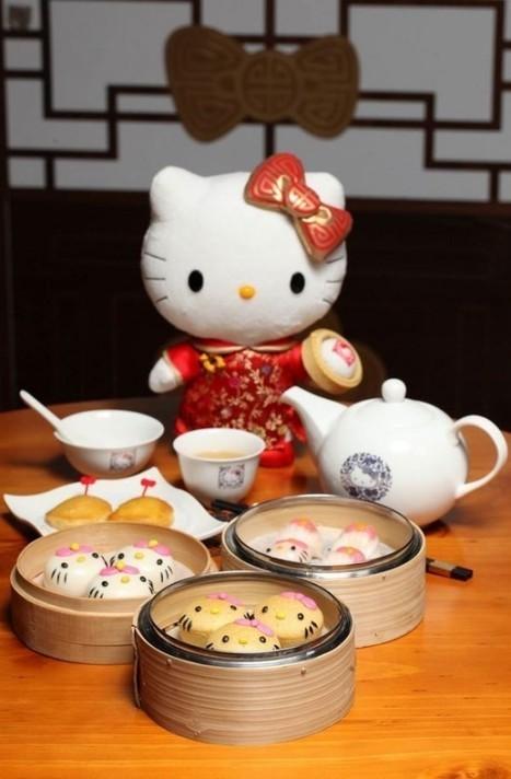 World's First Hello Kitty Chinese Restaurant Serves the Cutest Dim Sum | Strange days indeed... | Scoop.it
