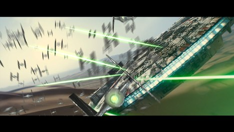A George Lucas Version of the 'Star Wars Episode VII: The Force Awakens' Teaser Trailer | pixels and pictures | Scoop.it