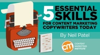 5 Essential Skills for Content Marketing Copywriters Today | Social Media in Manufacturing Today | Scoop.it