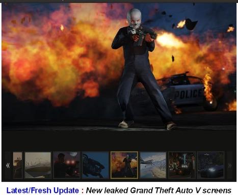 40 leaked GTA 5 Screens & Screenshots – New Update | Pheromone Authority | Scoop.it