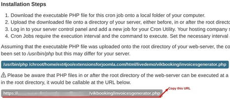 How to set up cron job for Vik Booking | How to set cron jobs | Scoop.it