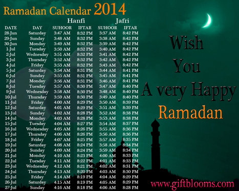 Ramadan | What is Ramadan? | Ramadan Calender 2014 | giftblooms | Scoop.it