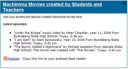 machinima examples-About Machinima-Machinima Toolkit | Video Game Design for Schools | Scoop.it