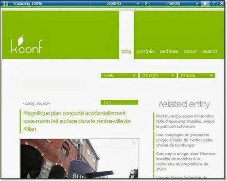 traduction instantanée de page web avec un bookmarklet | TIC et TICE mais... en français | Scoop.it