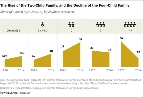 Americans' ideal family size is smaller than it used to be | Kickin' Kickers | Scoop.it