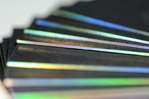 Business card design with diffraction foil magic | Inspired Print Design | Scoop.it