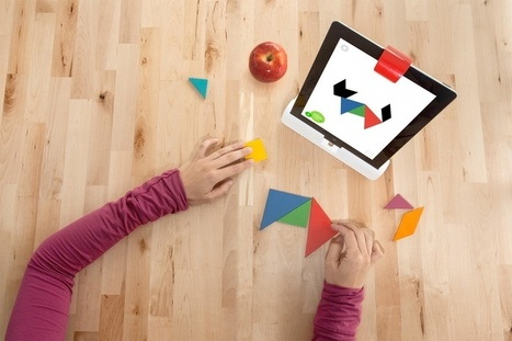 Osmo app connects real toys with iPad game | Libraries | Scoop.it