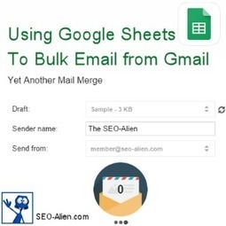 How to Bulk Email to Groups Using Google Drive Sheets | Allround Social Media Marketing | Scoop.it