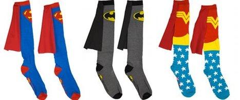 Superhero Knee-High Socks With Capes…Seriously   GeekGasm   Scoop.it