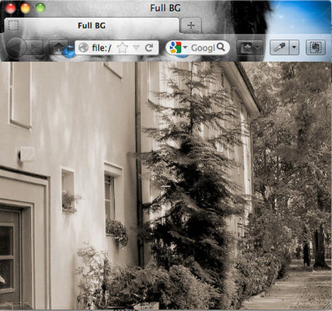 How to Create a Scalable Background Image For Your Website | Wordpress | Web-building | Scoop.it
