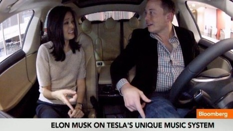 Tesla Model S Plays Any Song You Ask for: Video | Manufacturing In the USA Today | Scoop.it