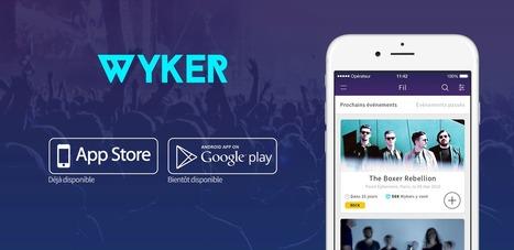 WYKER : ne manquez plus aucun événement musical adapté à vos goûts   MusicGeek   Scoop.it