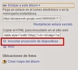 TIC: Insertar presentación de un álbum de Picasa en Blog o Web | <<TECNOLOGÍAS DE LA INFORMACIÓN Y LA COMUNICACIÓN ( TIC) >> | Scoop.it