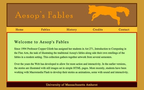 Aesop's Fables | Tools for  Teaching | Scoop.it