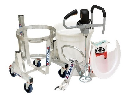 Makinex Mixing Station | Construction Products | Jackhammer Trolley | Scoop.it