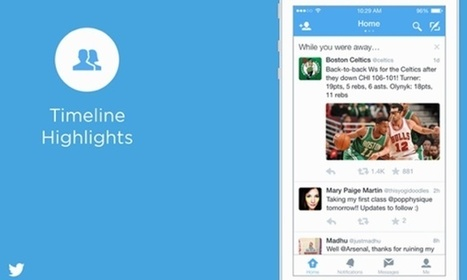 Twitter rolls out 'while you were away' recap feature | Social Media Guru | Scoop.it