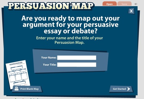 Persuasion Map | Technology Tools for Leo's | Scoop.it