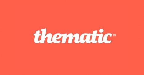 Thematic - Create your own scrolling album for free! | Tools for Classroom or Personal Use | Scoop.it