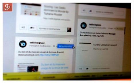 Hashtags : Google+ prend de l'avance... | Google | Scoop.it