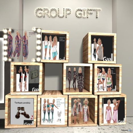 Outfits, Dresses, and Shoes 10 Group Gifts by GAALL | Teleport Hub - Second Life Freebies | Second Life Freebies | Scoop.it