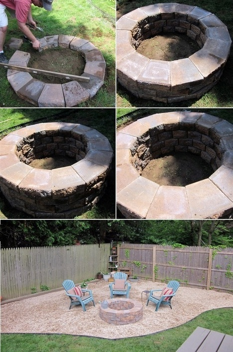 How to build a simple fire pit | Backyard Gardening | Scoop.it