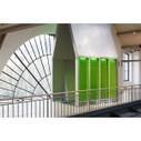 En attendant la façade à micro-algues grandeur nature, un prototype s'expose à Paris - Innovation produits - LeMoniteur.fr | Cahier du Génie Civil | Scoop.it