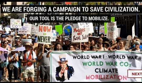 Sign Climate Mobilisation's [International] Pledge to Mobilise | Take action for a safer climate | Scoop.it