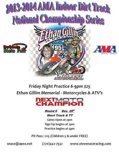 2013-2014 AMA Indoor Dirt Track National Championship Series Round 6- Ethan Gillim Memorial | California Flat Track Racing | Scoop.it