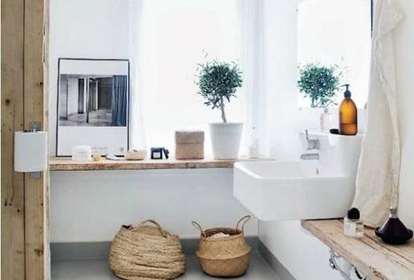 10 idées pour ranger efficacement sa salle de bain – Cocon de décoration: le blog | Décoration | Scoop.it