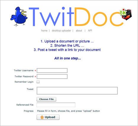 TwitDoc: partager des fichiers sur Twitter | Ce qui m'intéresse | Scoop.it